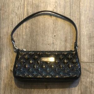 Black Leather Michael Kors Small purse